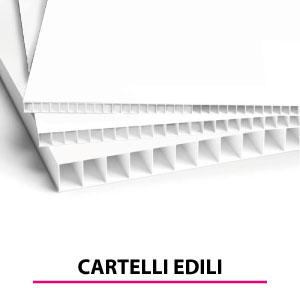 Stampa e produzione di cartelli pubblicitari per cantieri edili - Brescia