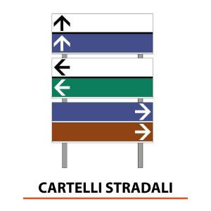 Montaggio e Installazione di cartelli stradali e frecce indicative - Brescia