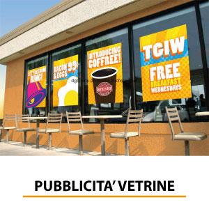 Montaggio e installazione di pubblicità per vetrine, vetrofanie e decorazione vetrate - Brescia