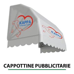 cappottine pubblicitarie con stampa personalizzata - Brescia